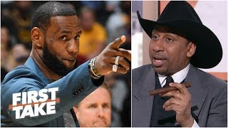 LeBron James being sidelined this long concerns me - Stephen A. l First Take
