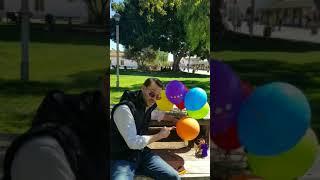 Justin tries Enchroma glasses for his birthday