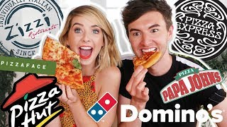 Ultimate Pizza Taste Test With Mark | Zoella