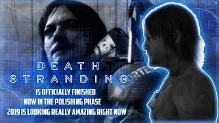 Death Stranding Is Officially Finished With Development, According To Hideo Kojima!