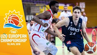 LIVE - Turkey v France - FIBA U20 European Championship 2019