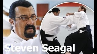 Steven Seagal show fighting techique at Russia 2015