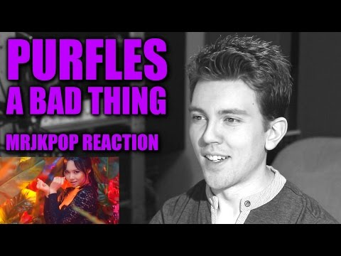 Purfles A Bad Thing Reaction / Review - MRJKPOP ( 퍼펄즈 나쁜짓 )