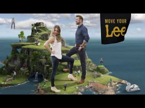 """The Lee Man"" TV Commercial from Lee Jean's new ""Move Your Lee"" campaign"