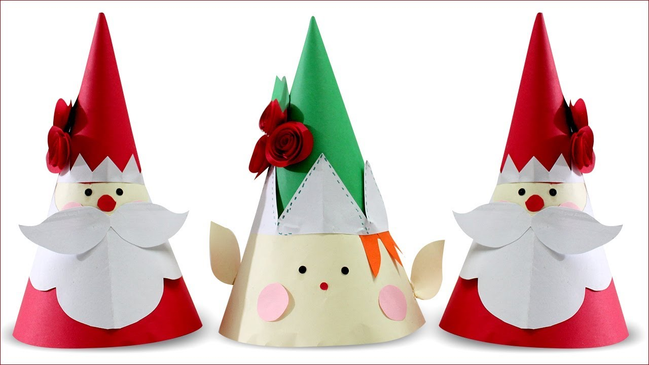 How to make origami Christmas models | 720x1280