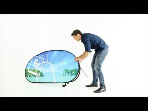 ExpandaBrand Horizontal Pop Up A Frames How to set up and dismantle your promotional display