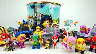 Щенячий патруль игрушки и сюрпризы для детей