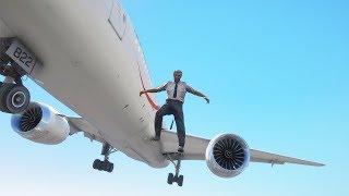 Pilot Jumps Out Of Boeing 787 Dreamliner | GTA 5