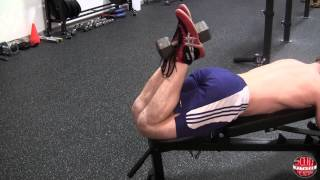 How To: Dumbbell Hamstring Curl