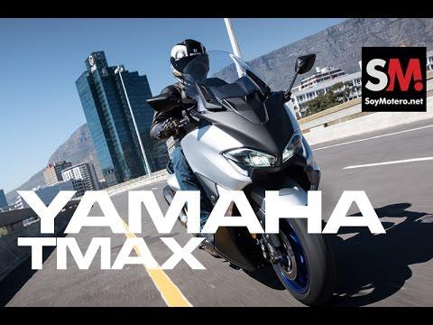 Yamaha TMAX 2017: Prueba Scooter [FULLHD]