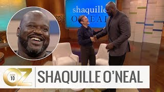 Shaquille O'Neal on Getting His PhD and Overcoming His Stutter