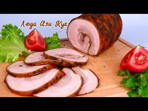 Сочная свинина в духовке Мясной рулет на Пасху 2021 Мясное блюдо из свинины на праздник Люда Изи Кук