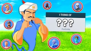 Can the Akinator guess ALL the Fortnite skins?