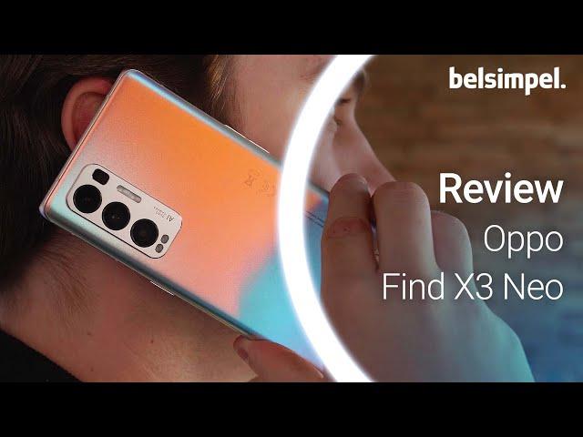 Belsimpel-productvideo voor de Oppo Find X3 Neo