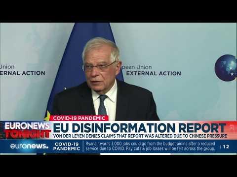Von der Leyen denies claims that report was altered due to Chinese pressure photo