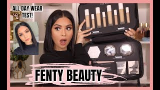 FENTY BEAUTY Concealer + Setting Powders Review 2019 | Diana Saldana