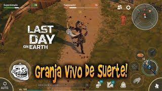 Last Day On Earth: Survival La Granja Vivo de Suerte!