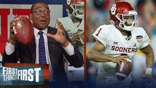 Cris Carter on Kyler Murray/Mike Vick comparison, importance of hand size | NFL | FIRST THINGS FIRST