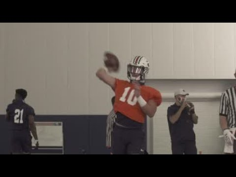 Auburn football first day of fall camp practice