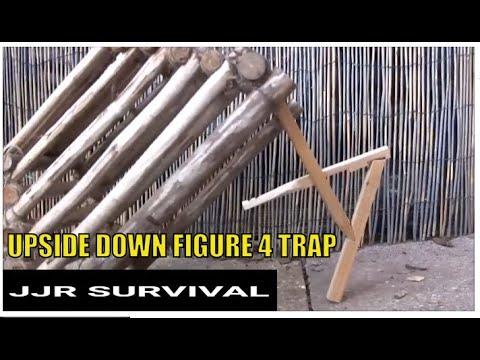 Figure 4 Deadfall Trap Upside Down