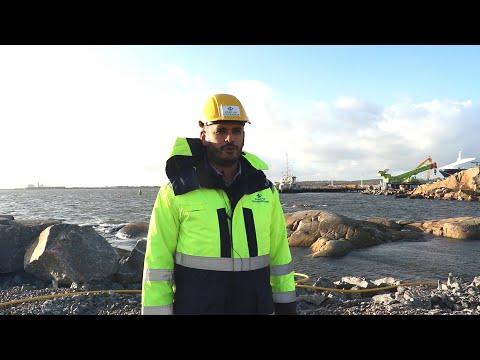 Muddring i Göteborgs hamn