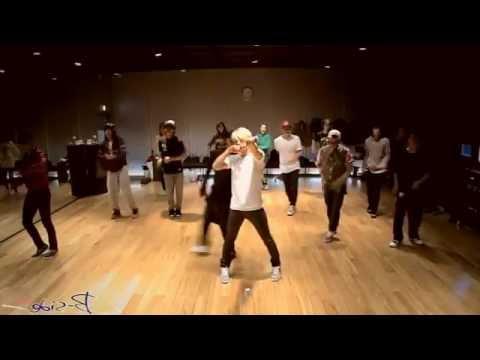 Big Bang - Fantastic Baby mirrored Dance Practice