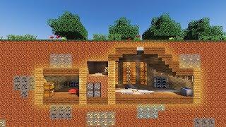 CÁCH LÀM NHÀ ĐÁ ĐỎ BÍ MẬT, KHÓ PHÁT HIỆN ! - Minecraft