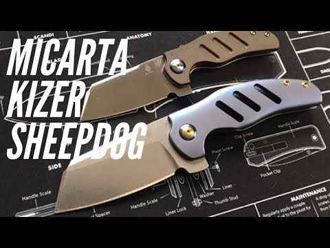 NEW Kizer Sheepdog in Micarta: Going Gear Monthly EDC Club - Knife and Exotac Key Rings