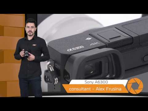 video Aparat foto Mirrorless Sony Alpha A6300L 24.3MP, 4K, Wi-Fi NFC, Black + Obiectiv 16-50mm, Black