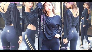 [FASHION LOOKBOOK] [HOW TO | STYLING ALL BLACK FITNESS OUTFIT FOR DAILY WORKOUT ft BR] by FancamVEVO