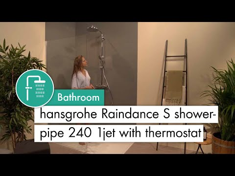 hansgrohe Raindance S Showerpipe 240 1jet with thermostat #27115000