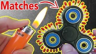 1000MPH FIDGET SPINNER (FIRE WARNING!)