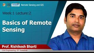 Lec 02: Basics of Remote Sensing