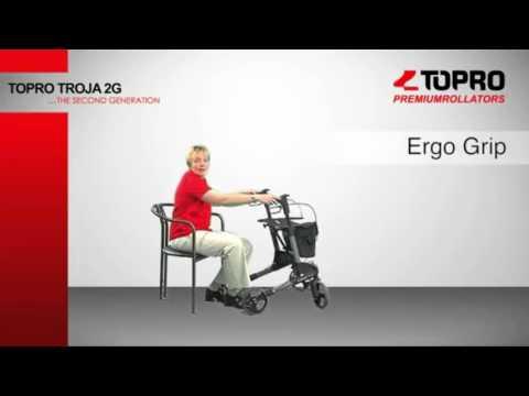Topro Troja 2G Premium Lightweight Rollator