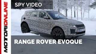Range Rover Evoque 2019 | Spy video
