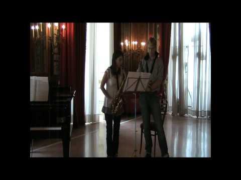 Arno Bornkamp masterclass at Casino Sociale Lesson on Naulais Passionné et Bossa Nova