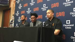 Collin Sexton introduced as newest member of Cleveland Cavaliers