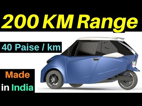 Best Budget Electric Car Launch in India 2020 | Strom R3