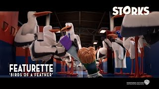 Storks ['Birds Of A Feather' Featurette in HD (1080p)]
