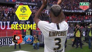 Stade Rennais FC - Paris Saint-Germain ( 1-3 ) - Résumé - (SRFC - PARIS) / 2018-19