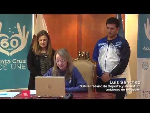 Alicia felicitó a jóvenes deportistas santacruceños que participaron de los EPADE 2018 en Neuquén