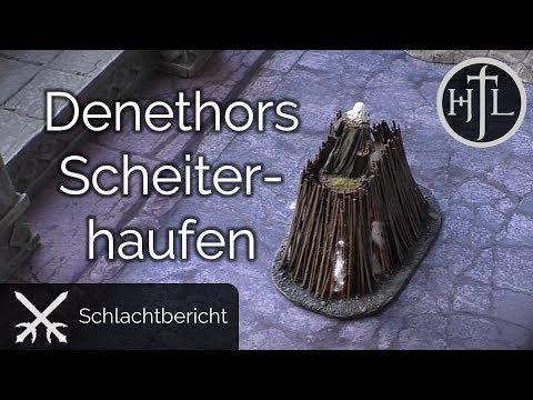 Battlereport - DRdK #11 - Denethors Scheiterhaufen (Mittelerde / Hobbit / Herr der Ringe)