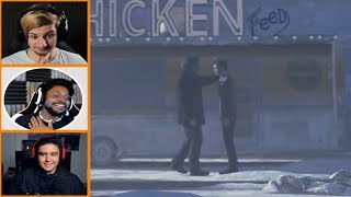Let's Players Reaction To Hank Hugging Connor | Detroit: Become Human