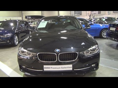 BMW 320d xDrive Sedan (2016) Exterior and Interior in 3D