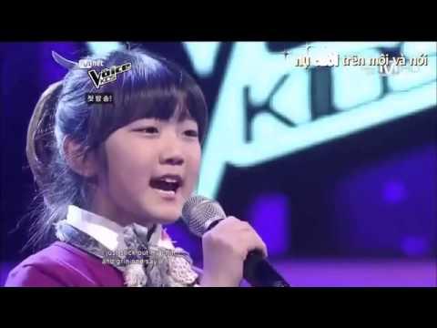 La voz mas bella del planeta entero..niña coreana.