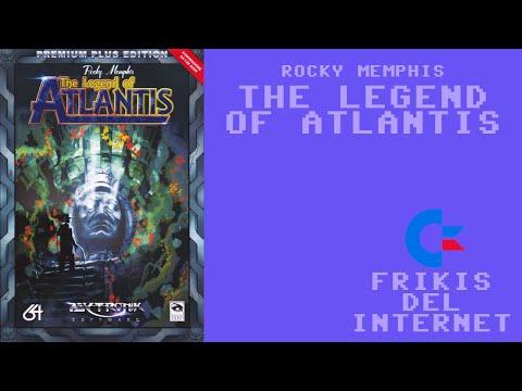 Rocky Memphis - The Legend of Atlantis (c64) - Walkthrough comentado (RTA)