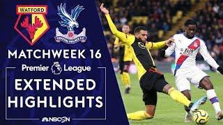 Watford v. Crystal Palace | PREMIER LEAGUE HIGHLIGHTS | 12/07/19 | NBC Sports