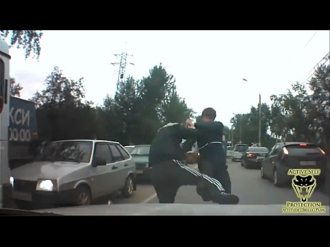Intended Carjacking Victim Destroys Carjacker | Active Self Protection