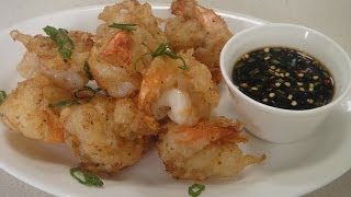 Beer Battered Prawns..