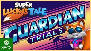 Lucky facing the Guardian Trials